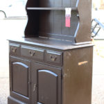 Ugly Brown Hutch Makeover