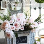 Decorating for Spring Using Baskets {A Decorating Challenge}