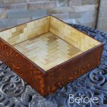 Wooden Thrift Store Box Update