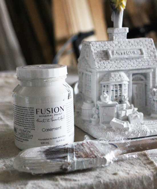 Fusion mineral paint in Casement