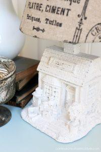Mini Antique Store Lamp Makeover