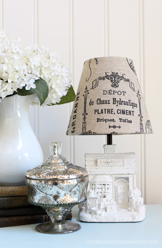 Mini Antique Store Lamp Makeover