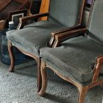Reupholstered French Provincial Chairs