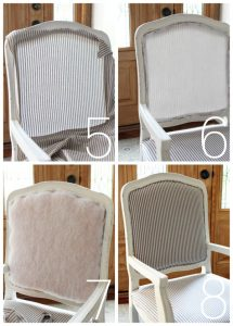 How to upholster a french provincial chair from confessionsofaserialdiyer.com