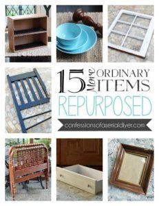 Turn ordinary items into beautiful teasures! confessionsofaserialdiyer.com