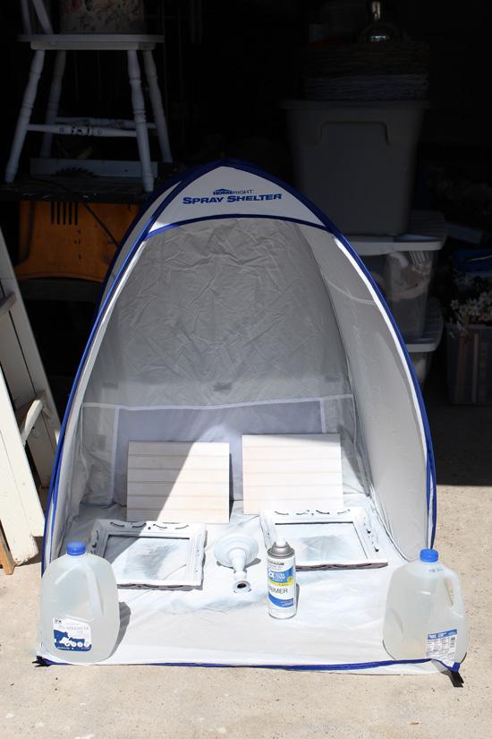 Homeright mini spray shelter