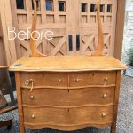 Serpentine Dresser Makeover