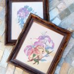 Repurposed Picture Frames