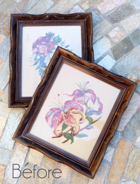 Repurposed Picture Frames Confessions Of A Serial Do It Yourselfer