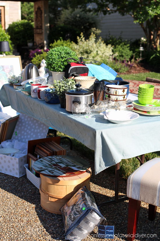 how to have a yard sale like a pro confessions of a serial do it