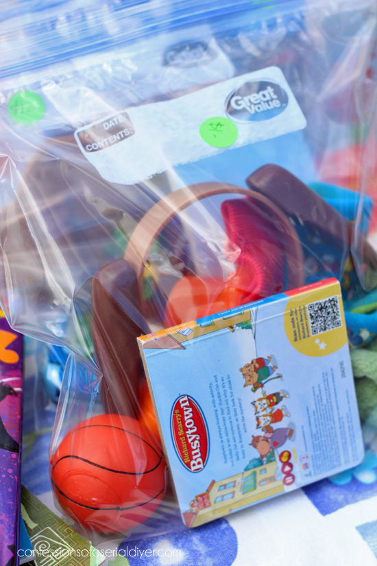Yard Sale Tip #5: Group all those little kiddie toys into $1 grab bags.
