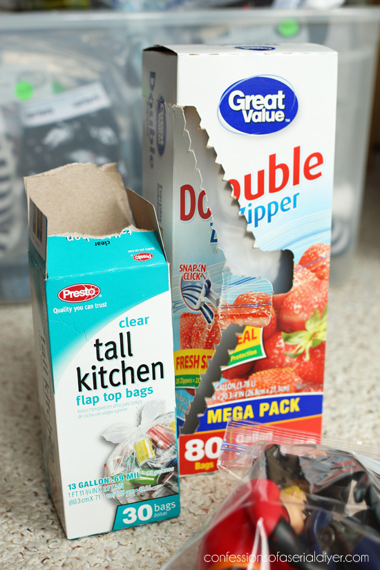 Yard Sale Tip #4: Bag as much as you can!