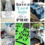 How to have a Yard Sale like a PRO!