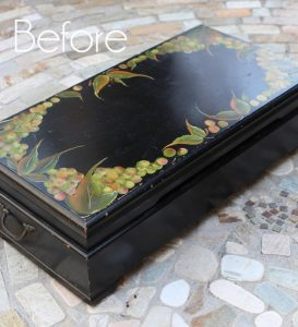 XL Flatware Box Makeover