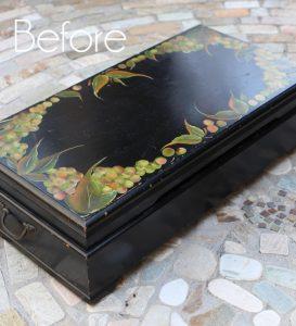 XL Flatware Box Makeover