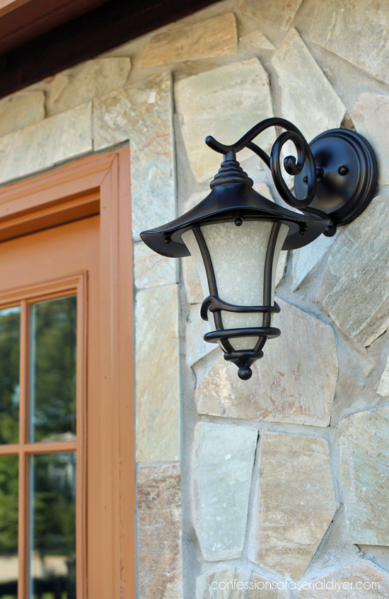 How to update outdoor light fixtures the easy way confessions