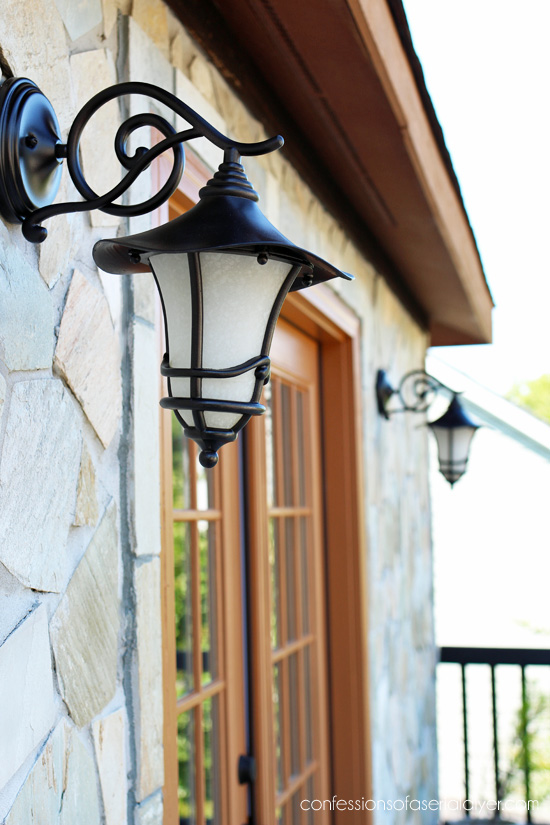 How to Update Outdoor Light Fixtures the EASY Way! | Confessions of ...