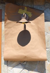 How to spray paint outdoor light fixtures without taking them down!