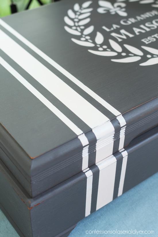 XL Flatware Box repurposed from confessionsofaserialdiyer.com