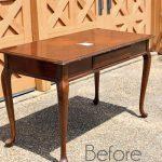 Desk turned Dressing Table
