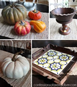 Thrifty Fall Decor