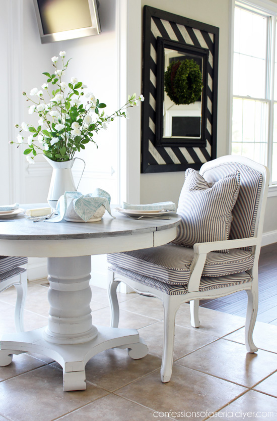 How to reupholster french chairs