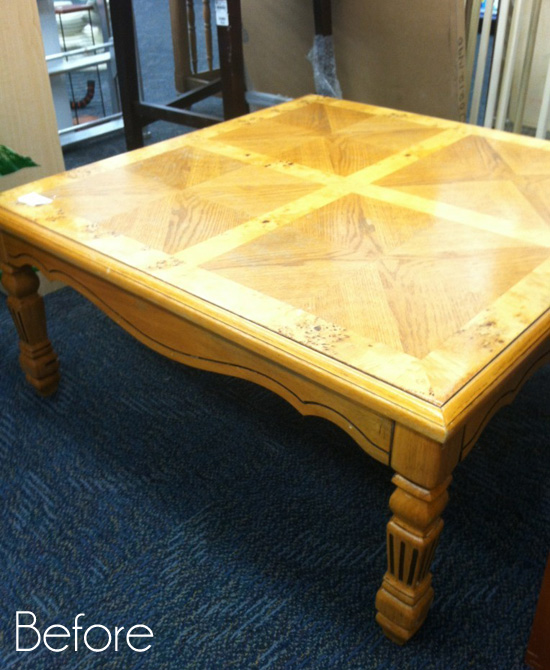 Attractive Square Coffee Table Redo | Confessions of a Serial Do-it-Yourselfer NB19