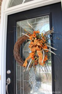 Front Door Updated and Ready for Fall!