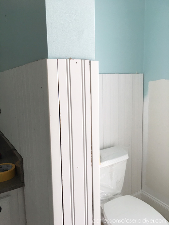 How To Install Wainscoting Confessions Of A Serial Do It