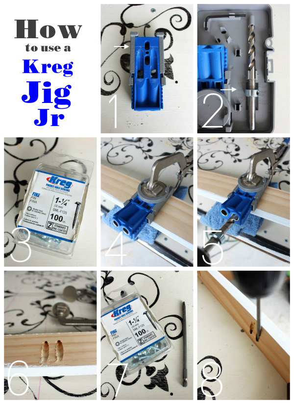 How to use a Kreg Jig Jr