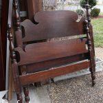 The Mason Jar Blue Headboard Bench