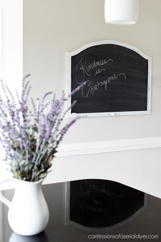 How to make a chalkboard
