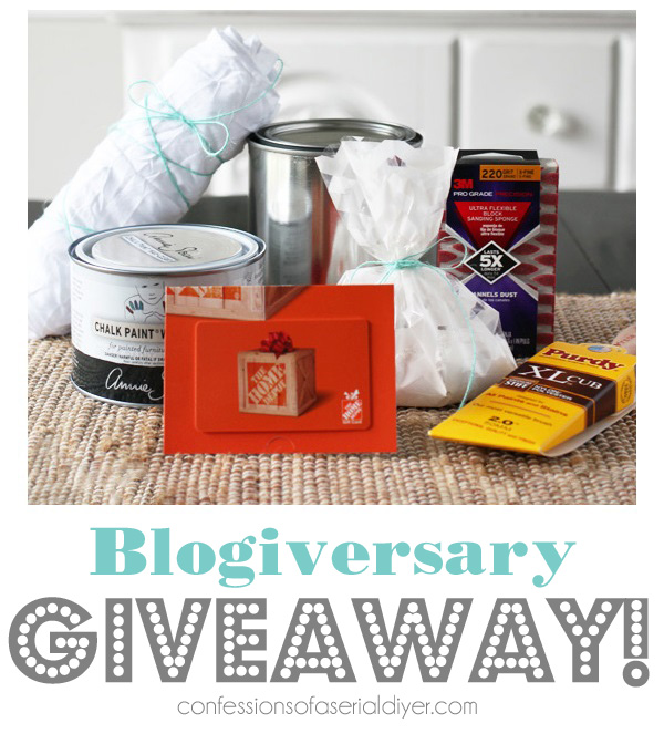 Blogiversary Painting Prize Pack Giveaway from confessionsofaserialdiyer.com