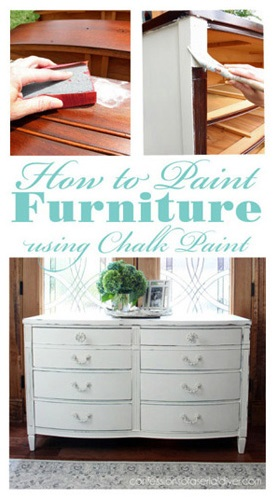 All you Need to Know to Tackle Chalk Painting Furniture!