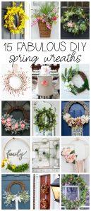 15 Fabulous DIY Wreaths for Spring!