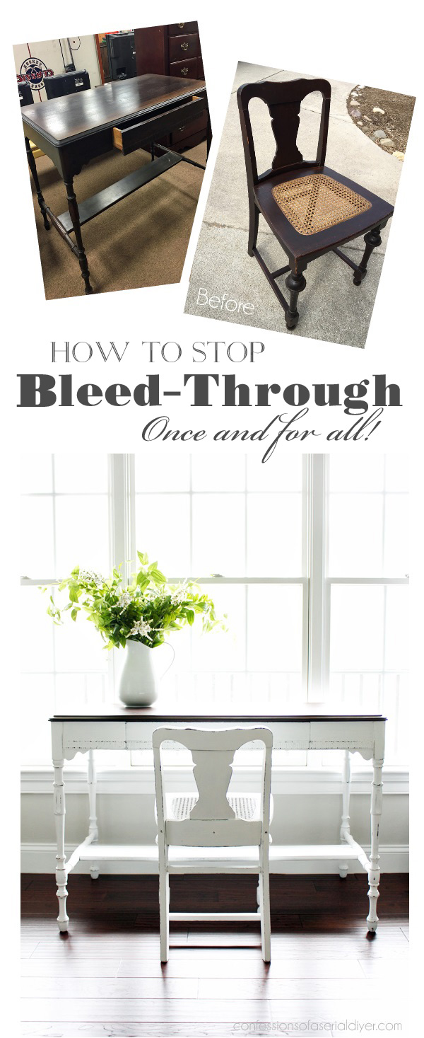 How to stop bleed-through on furniture once and for all!