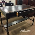 How to stop that pesky bleed-through once and for all! (& an Antique Desk Makeover)