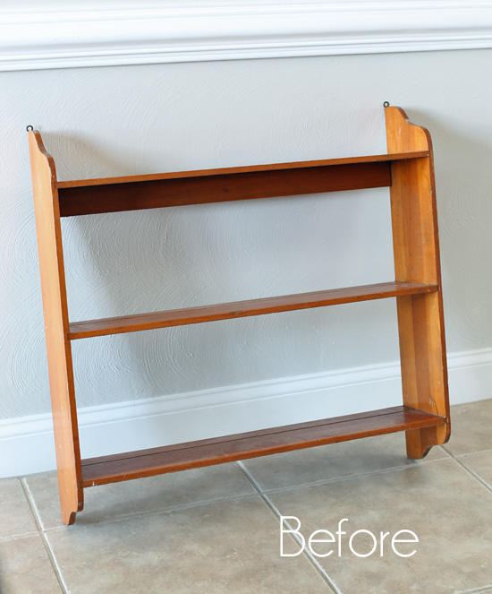 Thrift Store Shelf Makeover and a New Thrift Shop Shakedown Video!