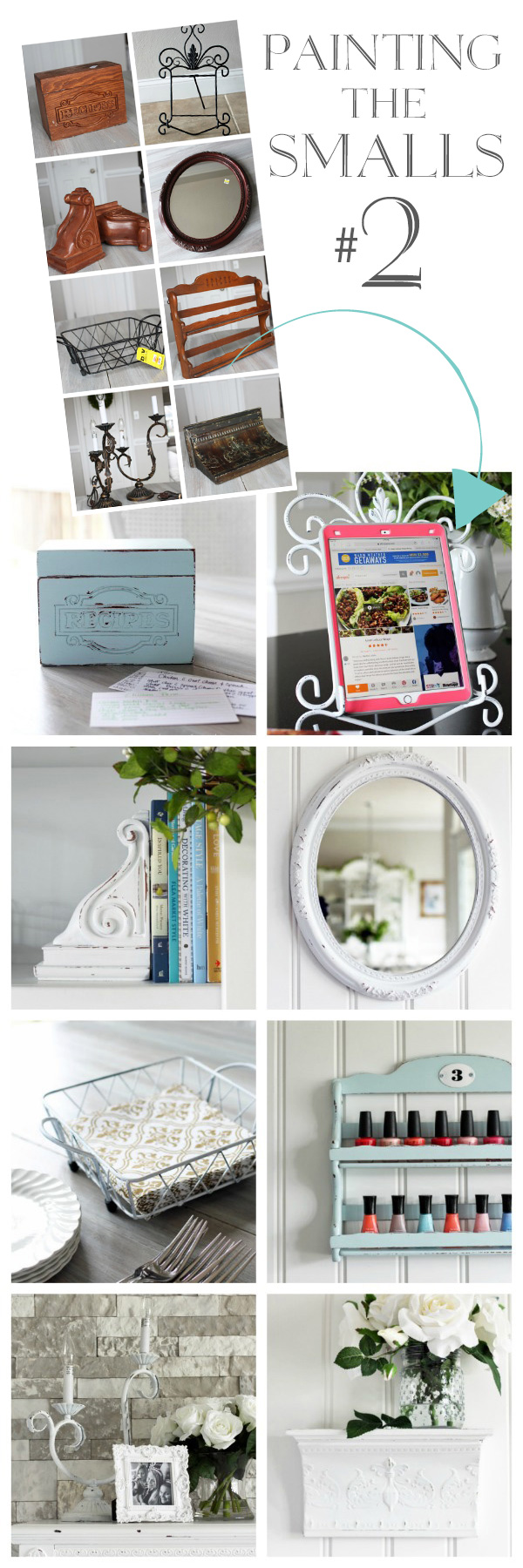 Eight quick thrift store makeovers!