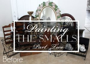 Painting the Smalls (Part Two!)