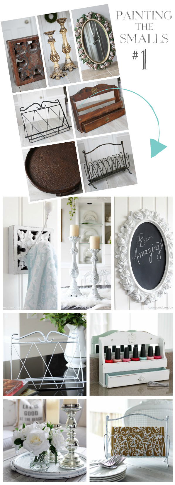 Seven quickie thrift store makeovers