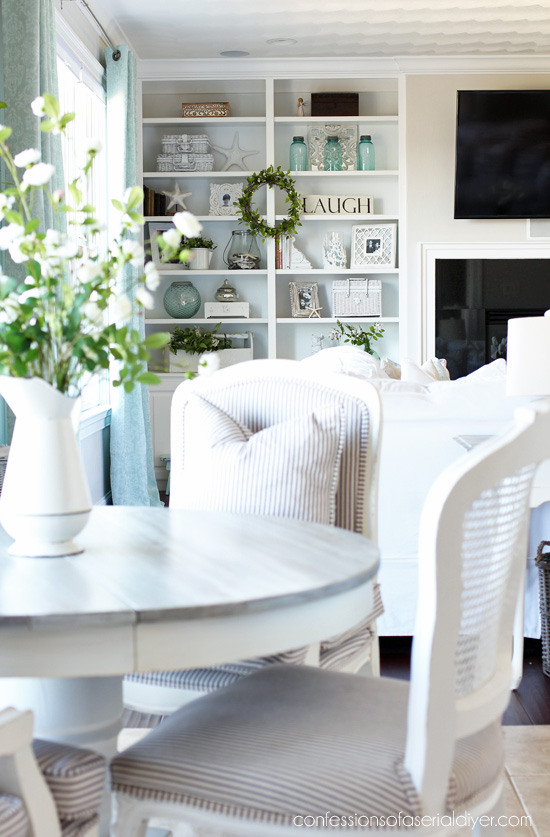 Spring in the Living Room | Confessions of a Serial Do-it ...