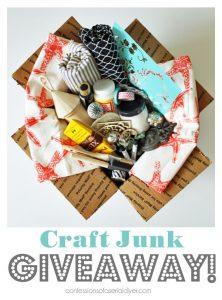 April Craft Junk Giveaway!