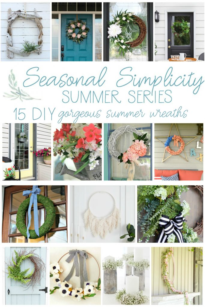 15 Gorgeous DIY Summer Wreaths