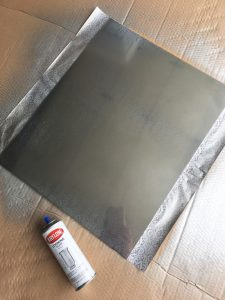 How to make a faux etched mirror