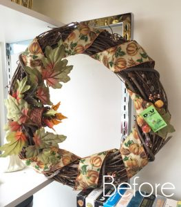 White Floral Summer Wreath