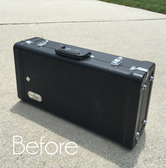 Trumpet Case Repurposed