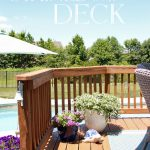 How we Stained our Deck