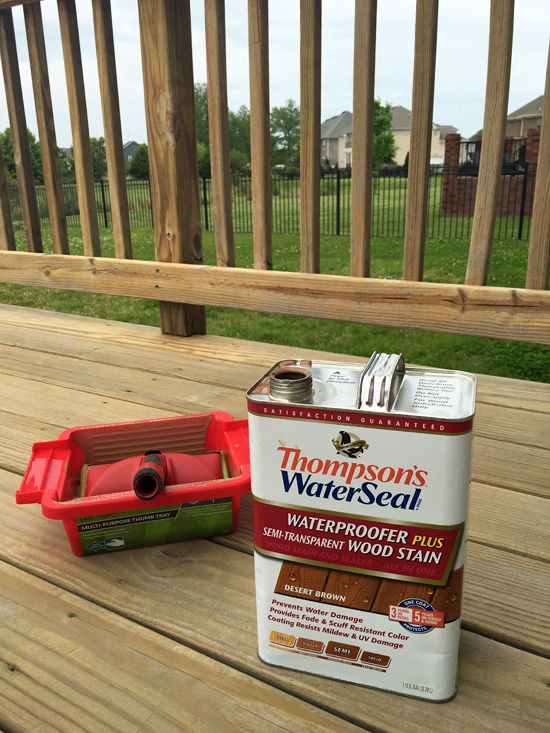Thomspson's WaterSeal Deck Stain