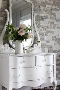 Antique Serpentine Dresser Makeover from confessionsofaserialdiyer.com